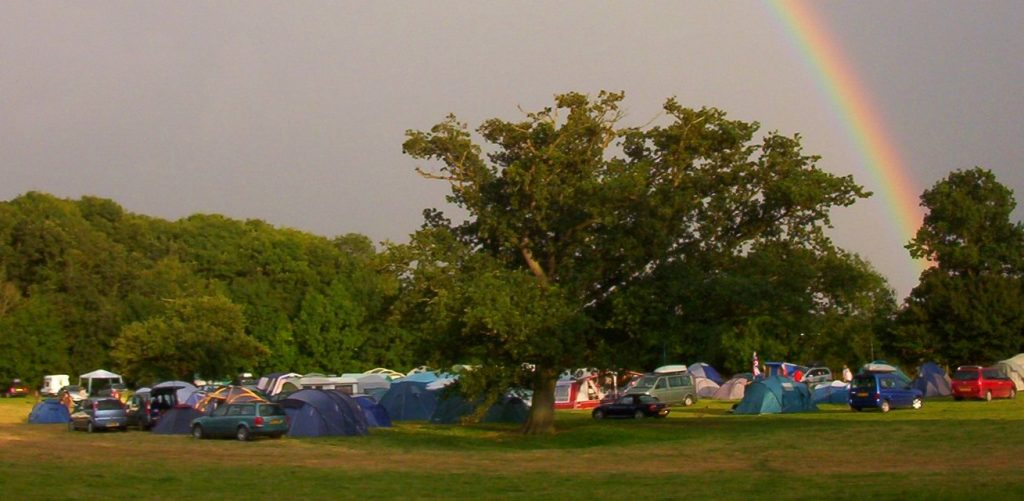 Folk Camps the at end of the rainbow