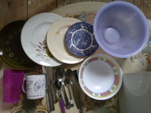 Dinnerware found at Dalton